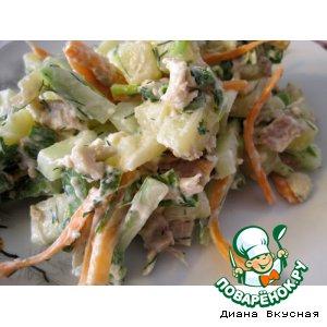 Салат из курочки