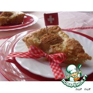 Швейцарский грушевый пирог