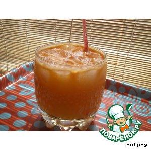 Напиток с ромашкой, морковью и апельсином