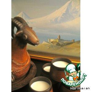 Тан - национальный кавказский  напиток