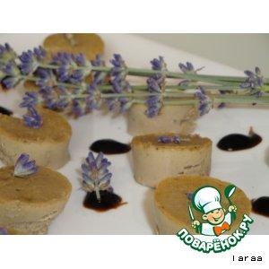 """Печeночные конфеты с лавандой """"Praline de foie"""""""