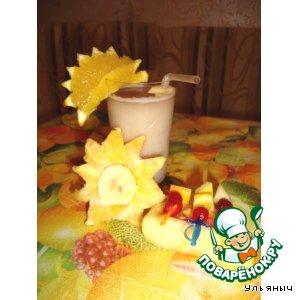 """Коктейль """"Банановый остров"""""""