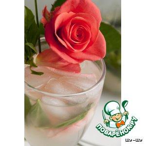 """Базиликовый лимонад """"Розовый вечер"""""""