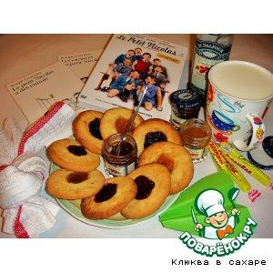 Печенье с белым сыром, ванилью и восемью конфитюрами «Petit Nicolas»