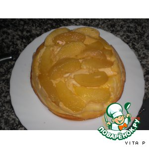 """Пирог """"Яблоки в твороге"""""""