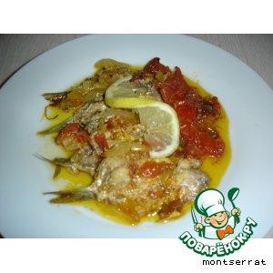 Сардина в горшочке/sardina en cazuela