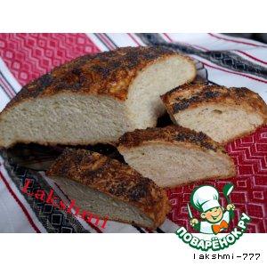 Картофельный хлеб с маковой посыпкой