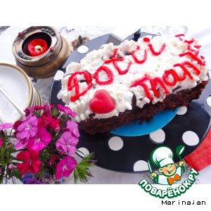 Бисквитный тортик для Дотти