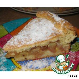 Яблочный пирог по-питерски