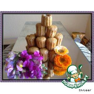 Мини-кексы с курагой и с черносливом