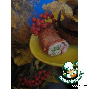 """Фаршированные колбаски """"Осенние"""""""