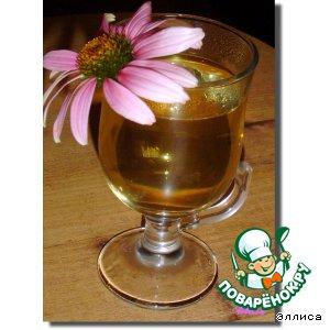 Мятный напиток с эхинацеей