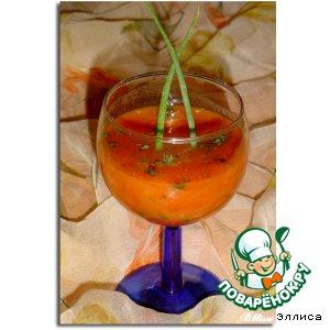 Томатный напиток с огурцом