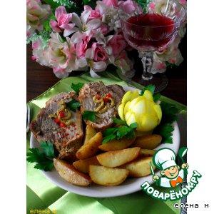 Запеченная свинина с ароматным картофелем