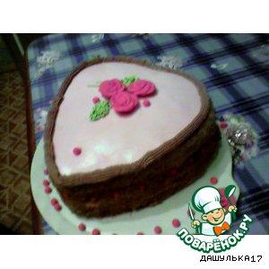 "Торт ""Принцесса на горошине"""