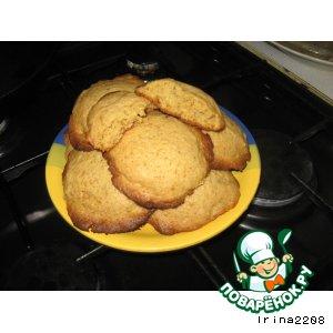 Пряное ореховое печенье на жженом сахаре