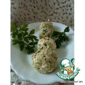 Творожные ньокки с брокколи
