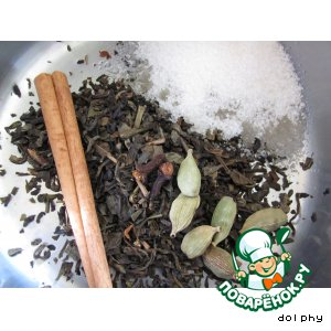 Пряный зеленый чай