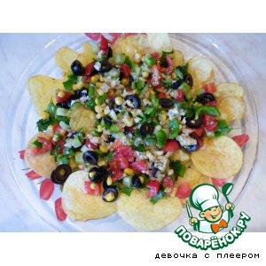 """Салат с овощами """"Мексиканский"""""""
