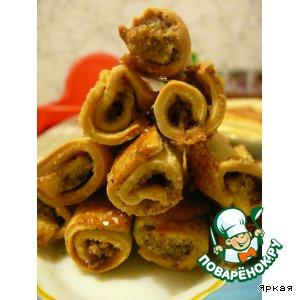 Бармак с грецкими орехами