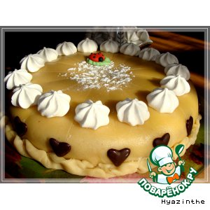Марципановый торт