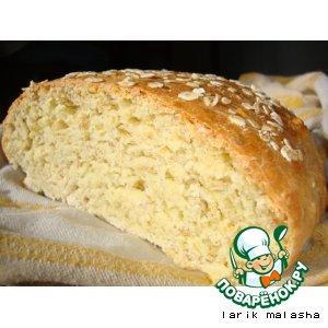 Хлеб с овсяными хлопьями и медом
