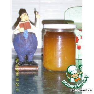 Желе из апельсинового сока на зиму