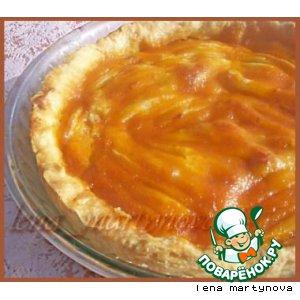 Магрибский пирог с миндалeм и грушами