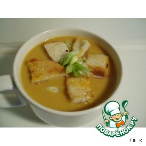 Суп-пюре гороховый со специями