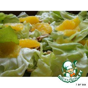 Филе апельсина в салате