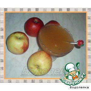 Яблочный джем с шафраном