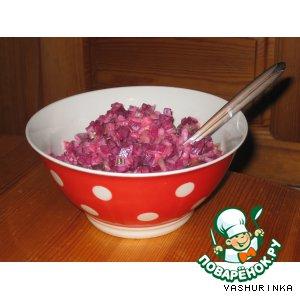 Осенне-зимний салат