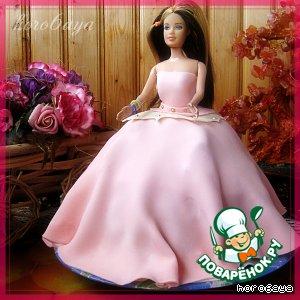 """Детский торт """"Барби"""""""