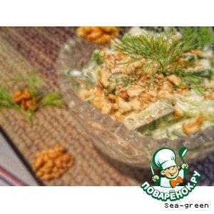 Болгарский огуречный салат