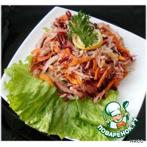 Бурятский салат