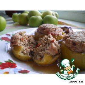 Свинина в яблоках