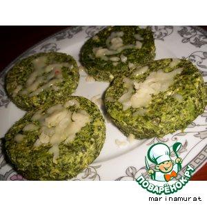 Parmesan Spinach Cakes - Кексы из шпината с пармезаном