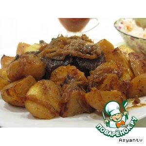 Мясо в фольге, запеченное в духовке