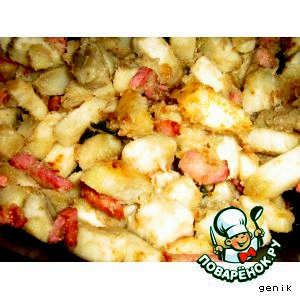 Американский сладкий картофель(батат) с корейкой