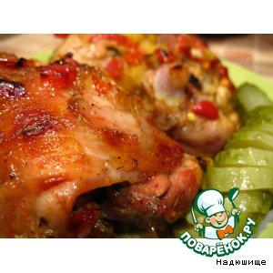 Куриные бедрышки в кисло-сладком соусе