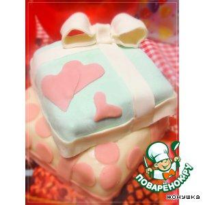 """Торт """"Подарочек"""""""