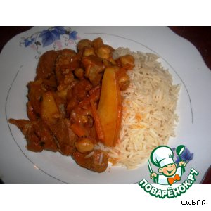 Баранина с рисом по-ливийски