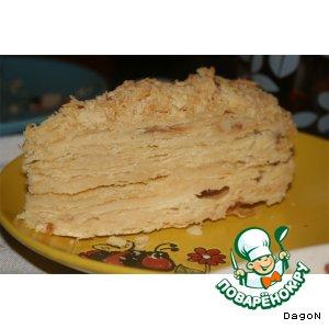 """Торт песочный """"Наполеон"""""""