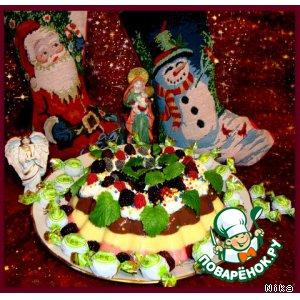 """Пудинг """"Чудесное Рождество!"""""""