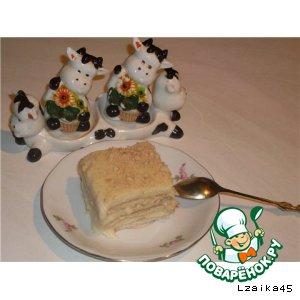 """Ленивый торт """"Бурeнка"""""""