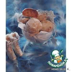Ореховое печенье «Снежки»