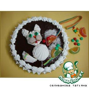 """Украшение торта """"Кошки-мышки"""""""