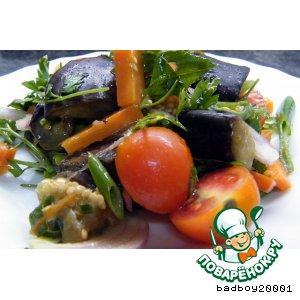 Салат из синеньких ягод
