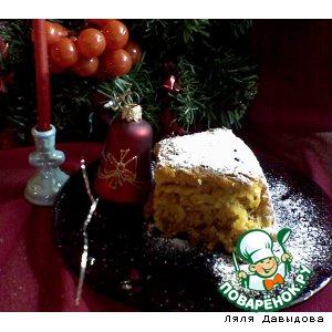 """Постный кекс """"Праздничный"""""""