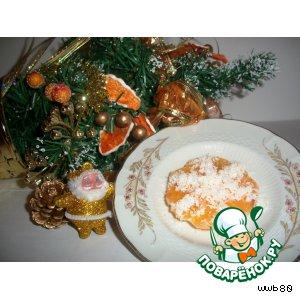 Снежинки-мандаринки